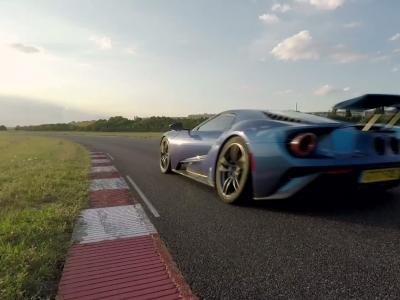 Essai Ford GT : née pour la compétition