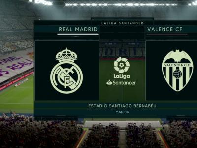 Real Madrid - FC Valence : notre simulation FIFA 20 (Liga - 29e journée)