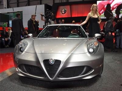 Genève 2013 : Alfa Romeo 4C