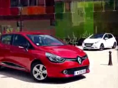 Rencontre Renault Clio 4 - Peugeot 208