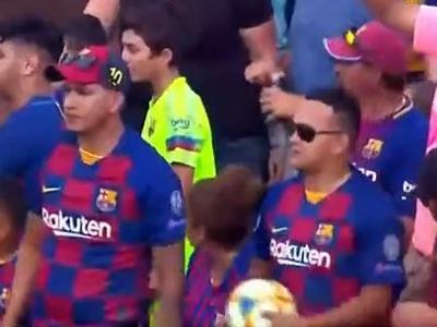 Naples - Barça : le premier but d'Antoine Griezmann avec les Blaugrana