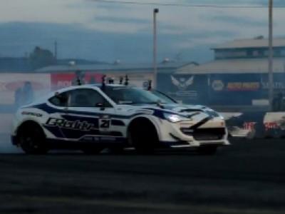 Formula Drift 2012 avec Hyundai - Evergreen Speedway