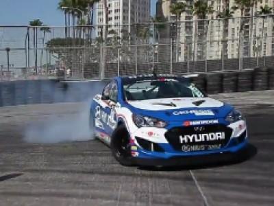 Formula Drift 2012 avec Hyundai - Long beach