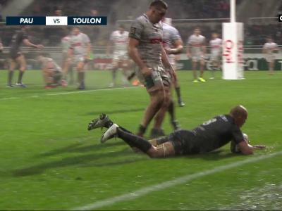 Section Paloise - RC Toulon : résumé du match