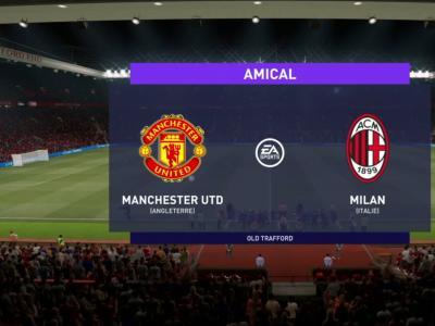 Manchester United - AC Milan : notre simulation FIFA 21 (1/8ème de finale aller de Ligue Europa)