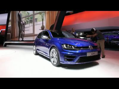 Francfort 2013 - Volkswagen Golf R