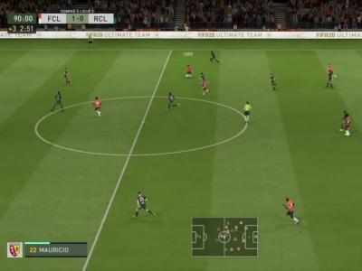 FC Lorient - RC Lens sur FIFA 20 : résumé et buts (L2 - 31e journée)