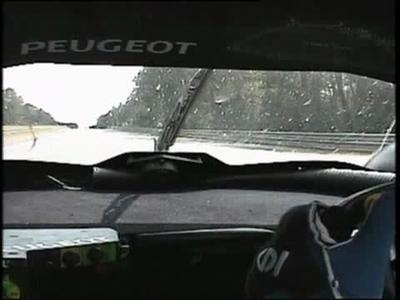 Peugeot 908 en caméra embarquée