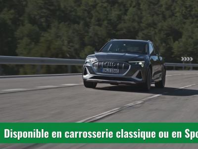 Audi e-tron S (2021) : le SUV version sport en vidéo