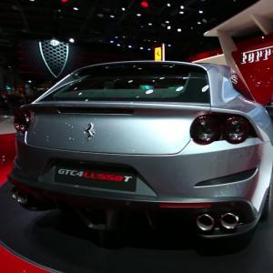 Mondial 2016 : Ferrari GTC4 Lusso T