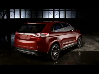 Le concept Ford Edge en images