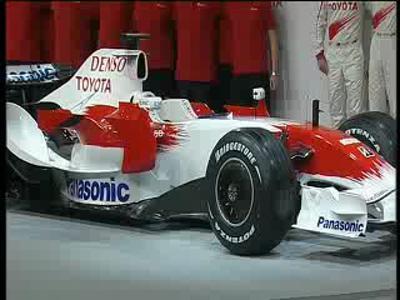 Toyota Panasonic - F1 2008