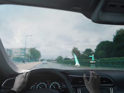 CES 2019 : la start-up française Eyelights présente sa technologie d'affichage tête haute