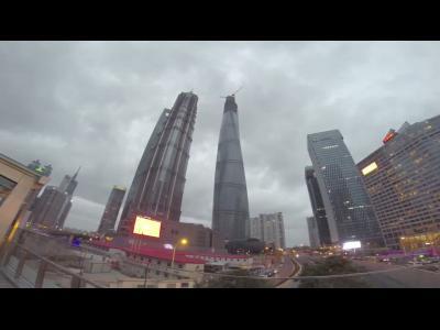 """Deux """"ninjas urbains"""" en Chine"""