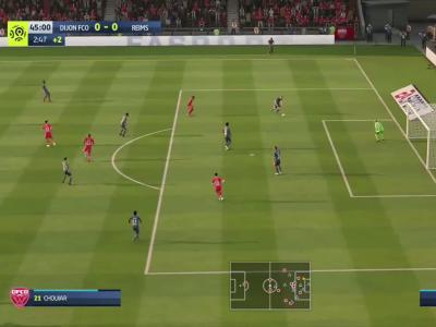 Dijon FCO - Stade de Reims sur FIFA 20 : résumé et buts (L1 - 37e journée)