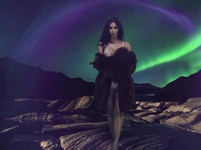 Jour 12 - Kim Kardashian par James Lima pour le calendrier LOVE 2016
