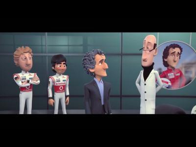 L'histoire de McLaren en animation (Alain Prost)