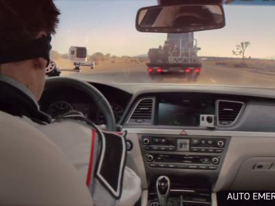 Insolite : un convoi de Hyundai Genesis sans conducteurs