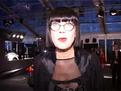 Chantal Thomas au Festival Automobile International