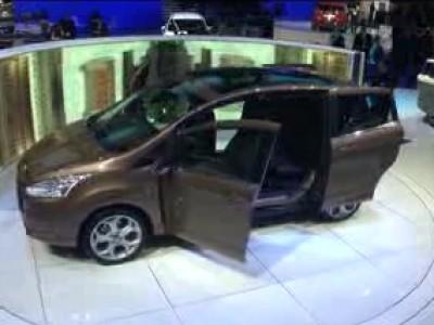 Genève 2012 : Ford B-Max