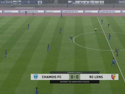 Chamois Niortais - RC Lens sur FIFA 20 : résumé et buts (L2 - 37e journée)