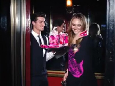 Juicy Couture avec Candice Swanepoel