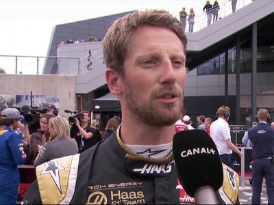 Grand Prix de Grande-Bretagne de F1 : la réaction de Romain Grosjean après les qualifications