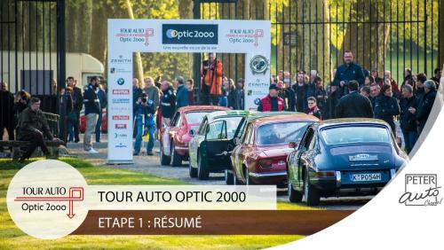 Tour Auto 2018 Jour 1 : Paris - Besançon