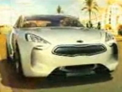 KIA GT Concept à Los Angeles