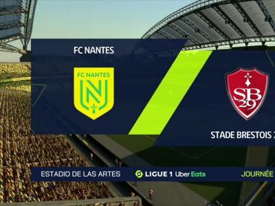 L1 - 7ème journée : notre simulation FIFA 21 de FC Nantes - Brest