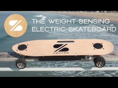 Le skateboard électrique Zboard