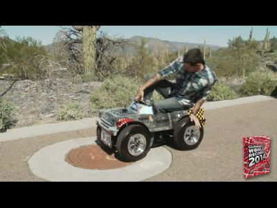 La plus petite voiture du monde entre au Guiness Book
