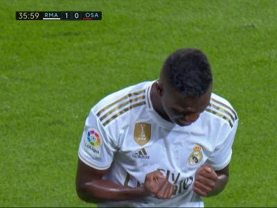 Real Madrid : les larmes de Vinicius après son splendide but en vidéo