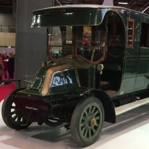 Rétromobile 2018: Renault Type BD Fourgon Postal (1909)