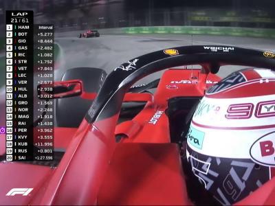 Grand Prix de Singapour de F1 : le changement de stratégie chez Ferrari en vidéo