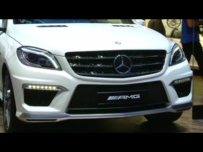 Genève 2012 : Mercedes ML63 AMG