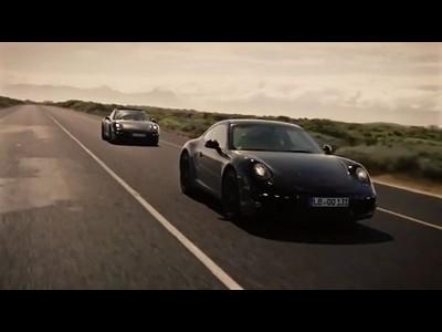Essais extrêmes de la Porsche 911 Type 991