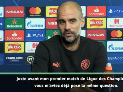 """Manchester City : Guardiola ne se """"suicidera pas"""" s'il ne remporte pas la Ligue des Champions"""