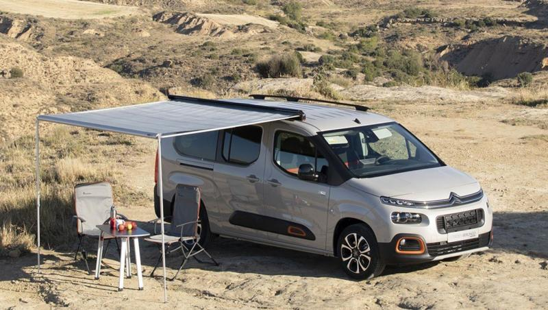Citroën Ludospace Tinkervan : le camping-car Berlingo en vidéo