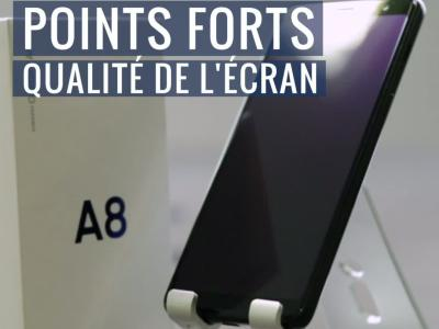 Samsung Galaxy A8 : notre test en vidéo