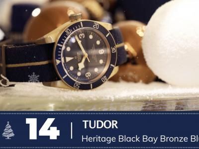 #14 Tudor Heritage Black Bay Bronze Blue Edition
