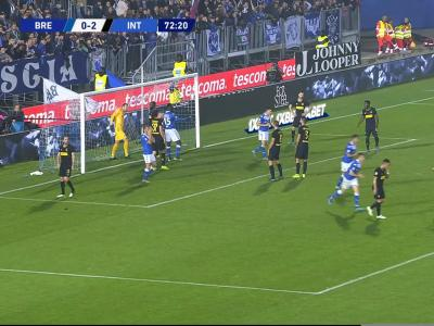 Brescia - Inter Milan : l'énorme raté de Balotelli !