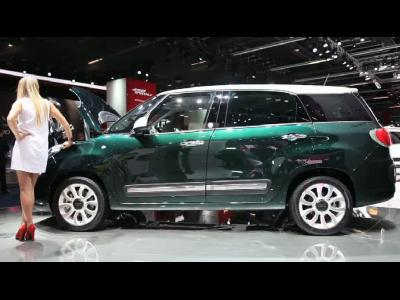Francfort 2013 - Fiat 500L Living