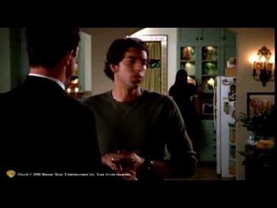 Chuck Saison 1 en DVD - Extrait La Dinde A La CIA