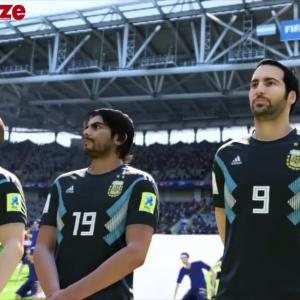 Argentine - Islande : notre simulation sur FIFA 18