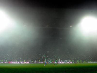 ASSE - OL : les meilleurs tifos des Verts à Geoffroy Guichard