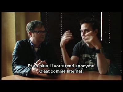 Super en DVD et Blu-ray - Interview James Gunn et Rain Wil