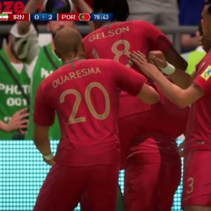 Iran - Portugal : notre simulation sur FIFA 18