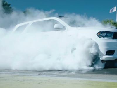 Dodge Durango SRT : pour faire des burn-out sur quatre roues