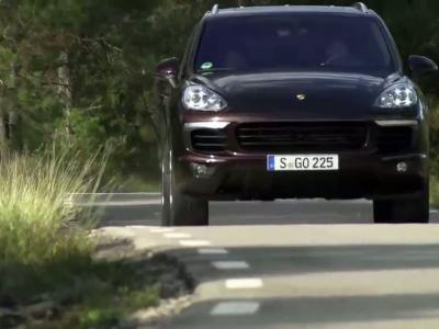 Essai Porsche Cayenne S